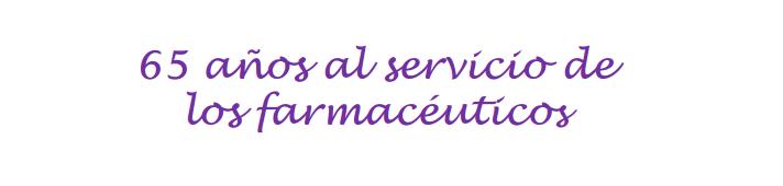 Llevamos 65 años asesorando a farmacias