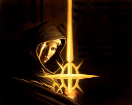 espada-de-luz-lacunian-espada-sword Santa Alis, Senhora do Heroísmo e da Bravura