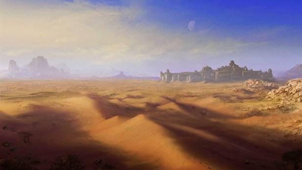 Arzien_Ruinas_Cidade_Luckendor A Cidade Perdida de Luckendor, 1ª Parte: Cruzando Myd-Arventhor, sessão final