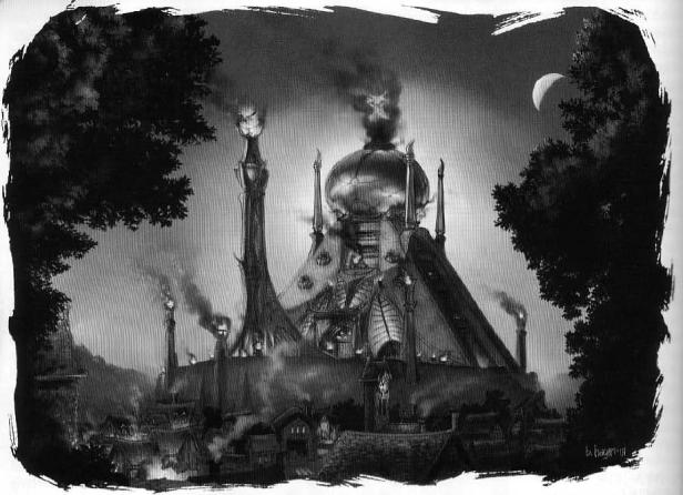 Arzien_Templo_Shalistir_Bosque_da_Penumbra No Rastro da Luz, 2ª Parte: O Bosque da Penumbra