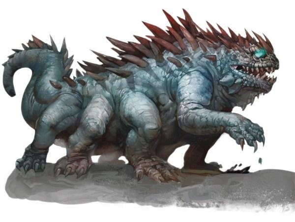 basilisk-gruniath-600x452 Estratagema do Obscuro: a gata mística e o guerreiro