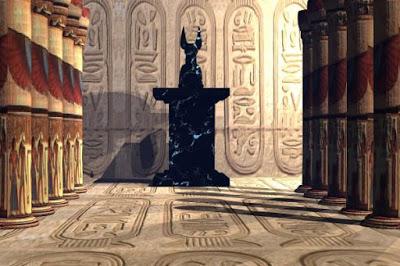 Arzien_pedestal_negro A Cidade Perdida de Luckendor, 2ª Parte: A Águia, a Coruja e a Serpente, sessão III