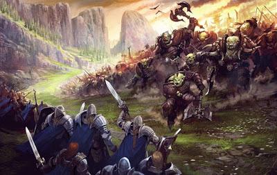 Arzien_Batalha_Espada_Reluzente Ascensão e Queda da Kinária
