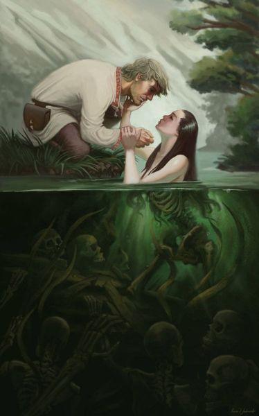 lago-da-morte-374x600 Aventura CaLuCe: O Resgate do Reino dos Cavaleiros Sagrados, parte III