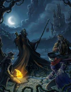 Fantasia_Sombria 11 Estilos de Cenários de Fantasia em Dungeons & Dragons