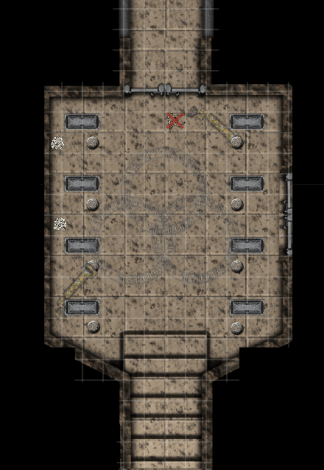 Sala2 A Cidade Perdida de Luckendor, 3ª parte: A Tumba de Haran-Pharak, sessão final
