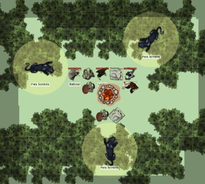 Greyhawk_Encontro-com-as-feras-sombrias Pontyrel - Travessia pela Floresta Obscura II