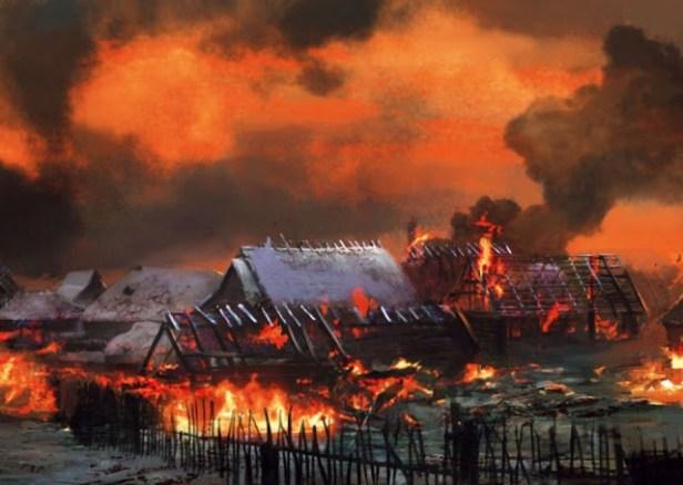 Greyhawk_Hommlet-em-chamas01 Fogo em Hommlet - Parte I