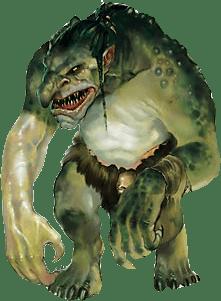 Greyhawk_trollxavenides O Lar de Tamoreus, 4ª parte