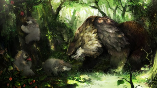 olwbear-e-filhotes-600x338 O intrépido Forflin