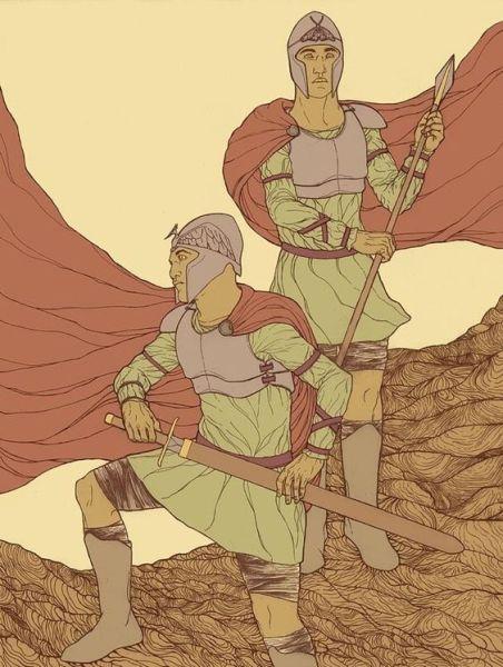 crivon-irmaos-sages-caerleon-452x600 Reinos de Toran: Reino de Caerleon