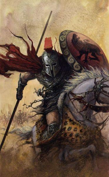 crivon-lanceiro-guerreiro-elite-cavaleiro-mort-371x600 Reinos de Toran: O Protetorado Morth e suas Cidadelas