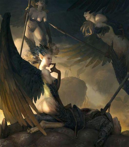 Greyhawk_Harpias-de-Frumar-529x600 O Templo Elemental da Terra - Parte II