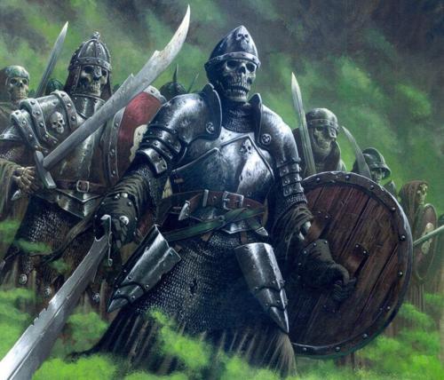 Arzien_Esqueletos_Guerreiros-1 A Coroa da Ruína, 3ª Parte: As Filactérias de Arantos, sessão IV