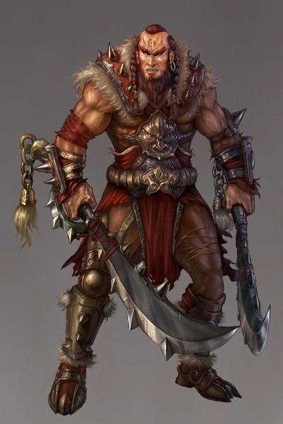 turaman-barbarian_by_zero_position_art-d3aptke-400x600 A ascensão de Tyr o Justo, parte I