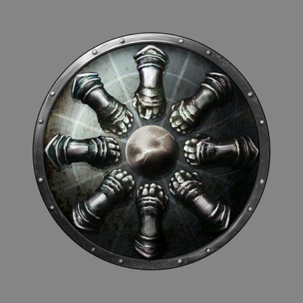 Greyhawk_Escudo-da-Determinação-600x600 Templo Elemental da Terra - Parte VI (O Dragão Esqueleto - II ATO)