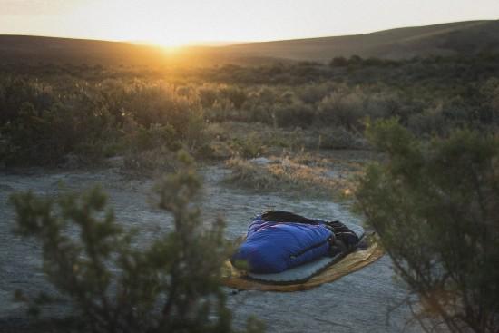 Cowboy camping at Willow Hot Springs
