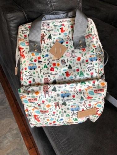 Cute Diaper Bag Backpack Unique Stylish Design photo review