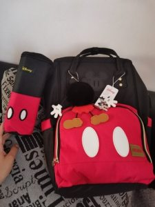 Disney Mickey & Minnie Diaper Bag Backpack Stylish Design photo review
