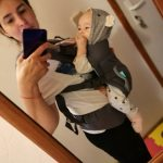 Baby Carrier Ergonomic Hoodie Wrap Sling photo review