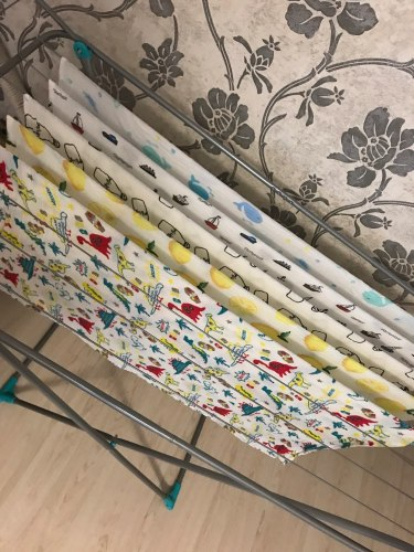 Baby Swaddle Blanket Soft Muslin Cotton Wrap – Teddy Bear photo review