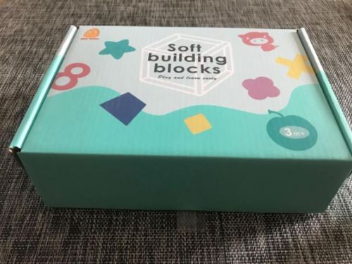 Educational Baby Building Blocks and Rubber Teether photo review