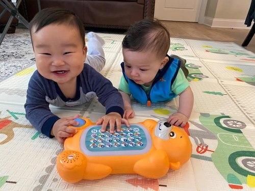 Baby Play Mat Crawling Waterproof Soft Foam Mat photo review