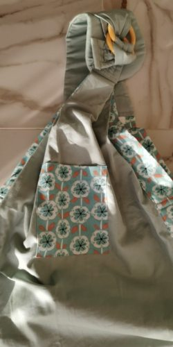 Baby Sling Wrap Carrier 5-in-1 Carry Position photo review