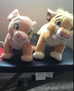 Simba The Lion King & Nala Plush Toy 2 Pack photo review