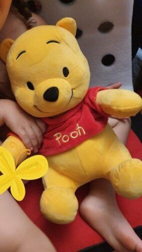 Winnie the Pooh Bear Stuffed Plush Toy photo review