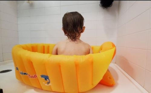 Baby Thickened Inflatable Bathtub Anti-Slip & Portable photo review