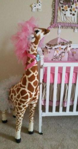 Giraffe Stuffed Plush Toy photo review