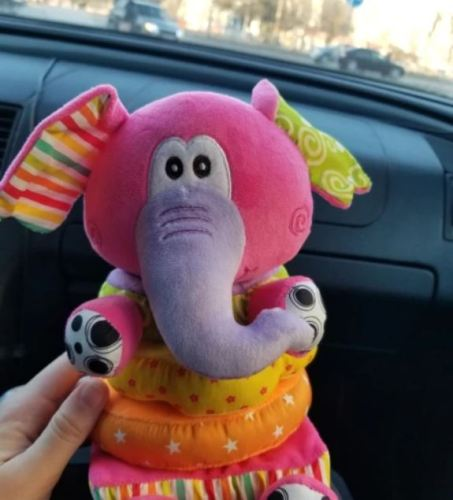 Baby Educational Elephant Plush Toy photo review