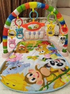 Baby Gym Play Mats, Kick and Play Piano Gym Activity Center photo review