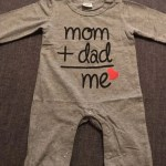 Baby Mom & Dad Long Sleeve Cotton Romper photo review
