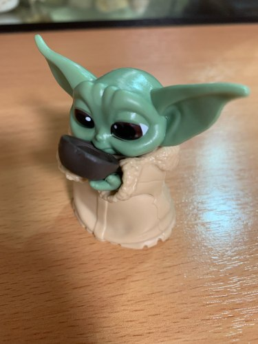 Baby Yoda Mini Size Toy 5 Pack Set photo review