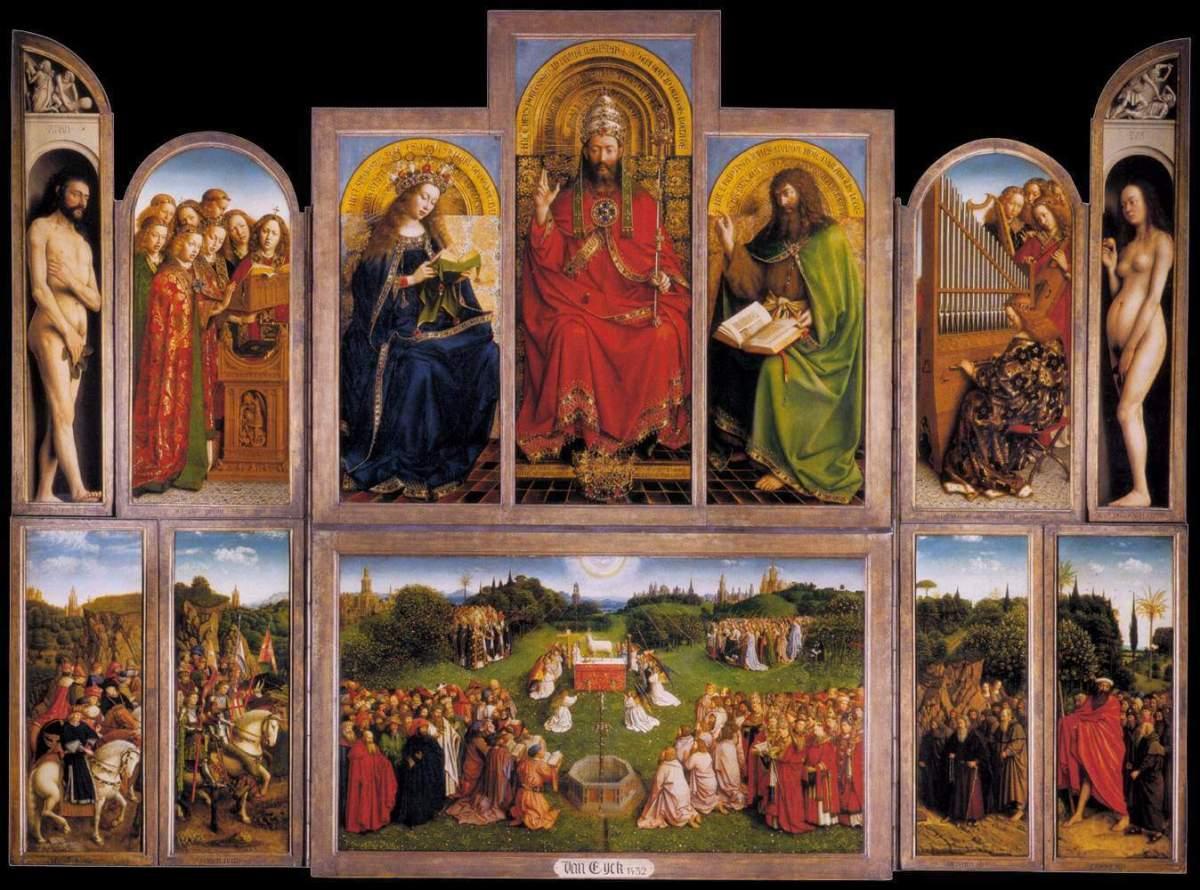 El Cordero Mistico - Jan Van Eyck