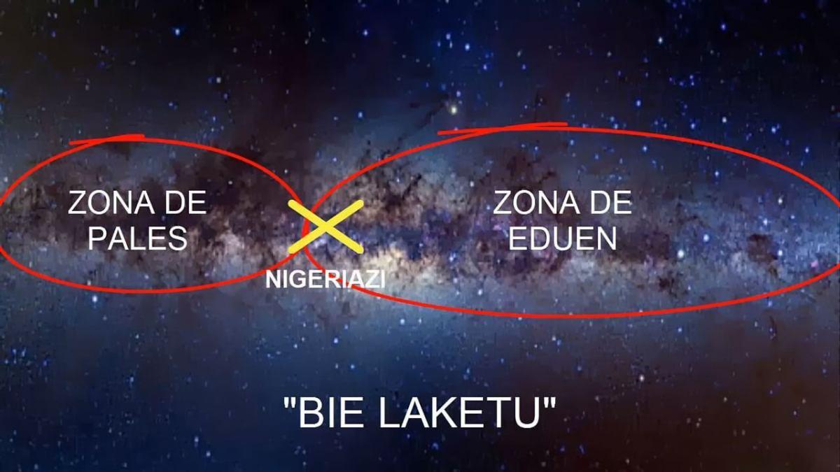 Nigeriazi en territorio fronterizo Eduen. Gracias a Un Lugar Sin Tiempo ni Espacio de YouTube