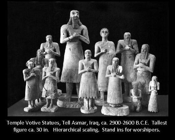 Panteón pagano sumerio, supuestamente