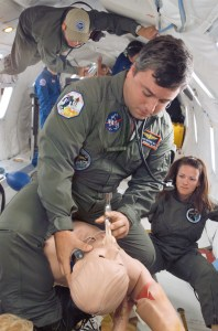 Insertion of a Laryngeal Mask Airway in Microgravity