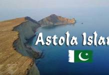 Astola Island in Pakistan