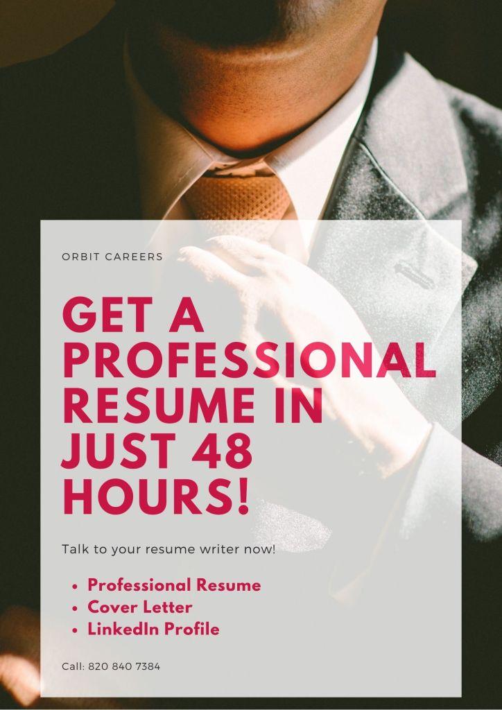 indian resume