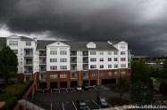 W samo południe, przedsmak huraganu Joaquin - 2015-09-30 Stamford (k. Nowego Jorku)