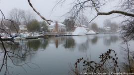 Zima nad zatoką