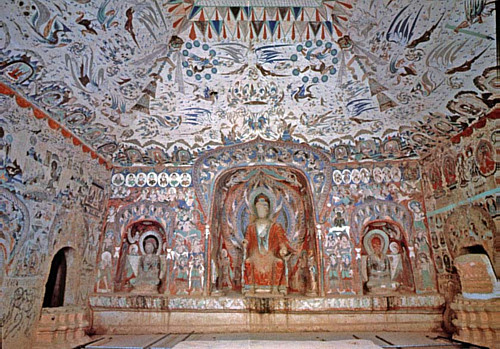 Another of the Mogao Caves
