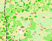 muestra mapa distancia intermedia