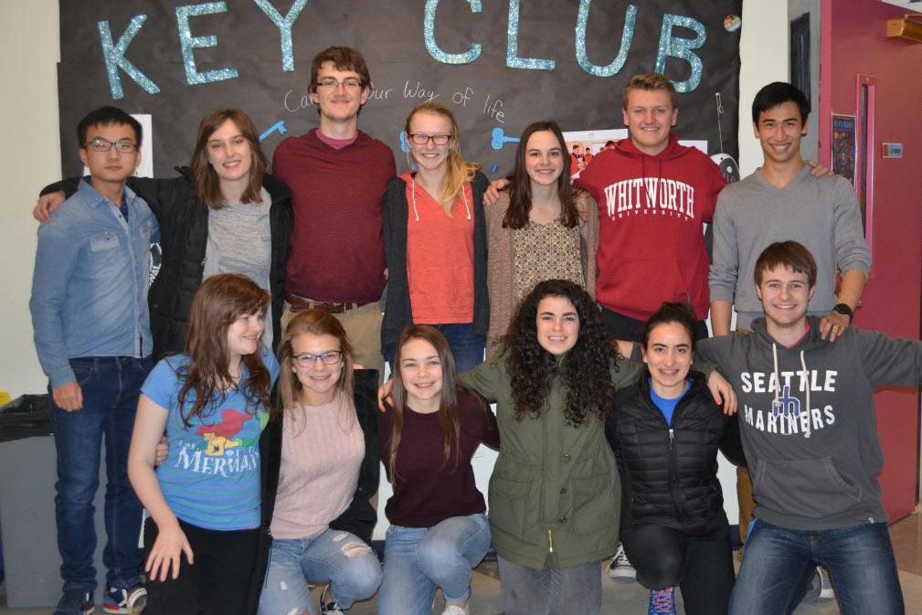 Key Club Students Strive to Enhance the Orcas Community