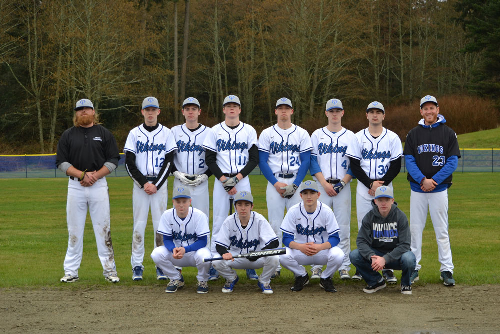 The Baseball Boys in Viking Blue