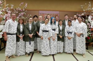 This Year's Japanese Connections Group