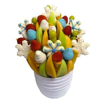 Let it Snow Edible Bouquet - Orchard Berry Arrangements